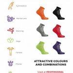 1 2 4 ou 6 paires de Chaussettes Noir Antidérapantes, ABS, Idéal pour les Sports: Yoga, Fitness, Pilates, Arts Martiaux, Danse, Gymnastique, Trampoline Tailles. 36-46, le Coton Respirant de la marque Rainbow-Socks image 2 produit