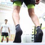 1 2 4 ou 6 paires de Chaussettes Noir Antidérapantes, ABS, Idéal pour les Sports: Yoga, Fitness, Pilates, Arts Martiaux, Danse, Gymnastique, Trampoline Tailles. 36-46, le Coton Respirant de la marque Rainbow-Socks image 3 produit