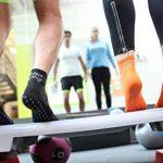 1 2 4 ou 6 paires de Chaussettes Noir Antidérapantes, ABS, Idéal pour les Sports: Yoga, Fitness, Pilates, Arts Martiaux, Danse, Gymnastique, Trampoline Tailles. 36-46, le Coton Respirant de la marque Rainbow-Socks image 4 produit