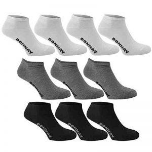 10 x paires de chaussettes basses Donnay - Chaussettes de sport - Pour homme, femme, enfant de la marque Donnay image 0 produit