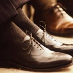 100% fil d'Écosse/Chaussettes hautes noir pour homme – 2 paires de la marque Chau7 image 1 produit