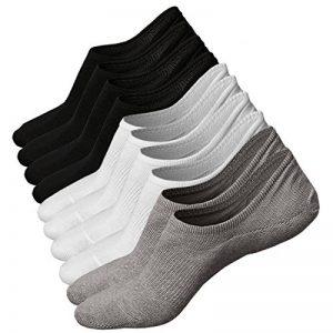 5 ou 6 Paires Homme Basses Chaussettes Antiglisse des Chaussettes Décontractées de la marque Toes+Home image 0 produit