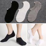 5 ou 6 Paires Homme Basses Chaussettes Antiglisse des Chaussettes Décontractées de la marque Toes+Home image 4 produit