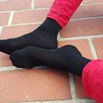 6 9 ou 12 paires de chaussettes Midi en BAMBOU pour Chaque Jour, Délicates Antibactériennes Respirantes Douces Confortable Unisexe Multicolore Pack tailles 36-46 Certificat d'OEKO-TEX, Made en Europe de la marque Rainbow-Socks image 2 produit
