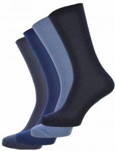6 paires hommes gros pied haut lâche non élastique 100% Chaussettes en coton - Taille 11-14 - sans élastique de la marque UK-Socks image 0 produit
