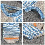 Acewin Socquettes de Sport Pour Homme Basses Chaussettes Décontractées Coton Sneaker invisible No-Show Socquettes Anti glisse de la marque Acewin image 3 produit