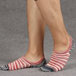 Acewin Socquettes de Sport Pour Homme Basses Chaussettes Décontractées Coton Sneaker invisible No-Show Socquettes Anti glisse de la marque Acewin image 4 produit