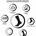 Aibrou Lot de 6/8/10 paires de socquettes Chaussettes Hommes Pour La Vie quodienne, Comfortables et Respirantes, Socquettes de Sport Unisex coton et élasthanne Chaussettes de Sport de la marque Aibrou image 1 produit