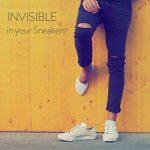 ALL ABOUT SOCKS Chaussettes invisibles pour hommes (lot de 5 paires) - PREMIUM Chaussettes basses, Anti-Dérapantes et Invisibles - Socquettes homme en coton de la marque ALL-ABOUT-SOCKS image 3 produit