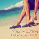ALL ABOUT SOCKS Chaussettes invisibles pour hommes (lot de 5 paires) - PREMIUM Chaussettes basses, Anti-Dérapantes et Invisibles - Socquettes homme en coton de la marque ALL-ABOUT-SOCKS image 4 produit