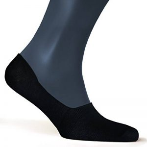 ALL ABOUT SOCKS Chaussettes invisibles pour hommes (lot de 5 paires) - PREMIUM Chaussettes basses, Anti-Dérapantes et Invisibles - Socquettes homme en coton de la marque ALL-ABOUT-SOCKS image 0 produit