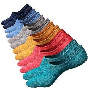 Anliceform Socquettes taille basse pour homme, invisible, antidérapantes en coton peigné chaussettes premium de la marque Anliceform image 0 produit