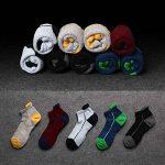 Anliceform Socquettes taille basse pour homme, invisible, antidérapantes en coton peigné chaussettes premium de la marque Anliceform image 1 produit