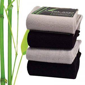 Bambou Chaussettes Lot de 4 - Qualité supérieure - Toucher ultra-doux de la marque Bambou image 0 produit