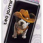 Bigben Teo Jasmin Cowboy Etui Chaussette en Coton pour Smartphone Noir de la marque Bigben image 1 produit