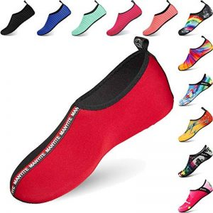 BIGU Chaussettes de Sport Aquatique de Nager de Surf de Yoga et de Plage Pieds Nus à séchage Rapide Aqua Chaussettes Slip-on Chaussures d'eau pour Enfants Hommes Femmes de la marque BIGU image 0 produit