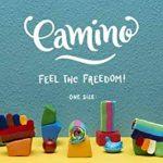 Camino - Chaussettes à doigts à rayures multicolores, en coton (95%) de la marque Camino image 1 produit