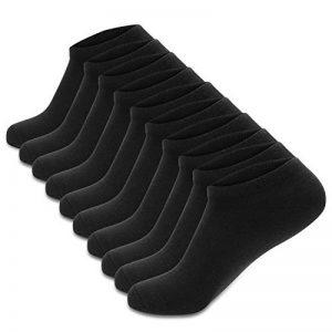 Cassiecy 5/10 paires Chaussettes de Sport Femme Homme de 5 couleurs Court Chaussettes Respirantes en Coton plusieurs taille: 35/39,39/44 de la marque Cassiecy image 0 produit