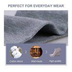 Caudblor Lot de 12 Paires de Chaussettes Taille Unique pour Femme et Homme, Noir/blanc/Gris de la marque Caudblor image 3 produit