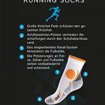 CFLEX - Lot de 4 paires de chaussettes de sport - protection contre les chocs - respirantes de la marque CFLEX image 4 produit