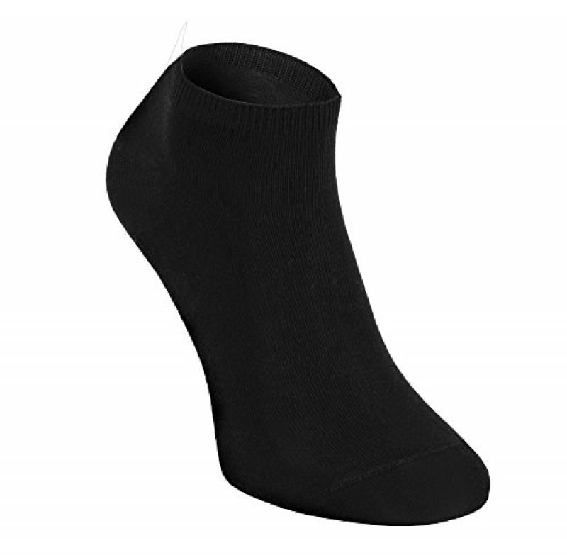 Noir 3 paire de Chaussettes Femmes en toute transparence super doux Bambou pointe cousu main