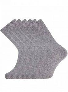 chaussette grise TOP 5 image 0 produit