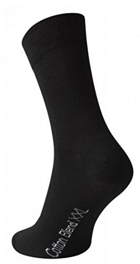 Taille 6-10 uk DONNAY-Homme Noir Socquettes