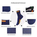 Chaussettes athlétiques pour hommes, Chaussettes de sport à 5 paires Comfort Trainer, Chaussettes en coton, antibactériennes et désodorisantes de la marque PMIWAO image 1 produit
