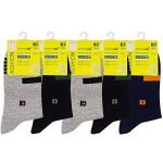 Chaussettes athlétiques pour hommes, Chaussettes de sport à 5 paires Comfort Trainer, Chaussettes en coton, antibactériennes et désodorisantes de la marque PMIWAO image 3 produit