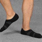 Chaussettes Basses coupe Décontractée pour Hommes - Chaussettes Courtes Invisible en Coton Anti-dérapantes pour Avec Poignée en Silicone 5 Paires de la marque Soxtome image 3 produit