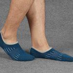 Chaussettes Basses coupe Décontractée pour Hommes - Chaussettes Courtes Invisible en Coton Anti-dérapantes pour Avec Poignée en Silicone 5 Paires de la marque Soxtome image 4 produit