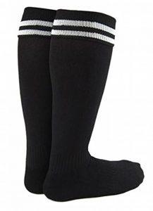 Chaussettes de sport montant jusqu'au genou, unisexe, adulte, pour baseball ou football, de marque Lian Lifestyle (1 paire) de la marque uooja image 0 produit