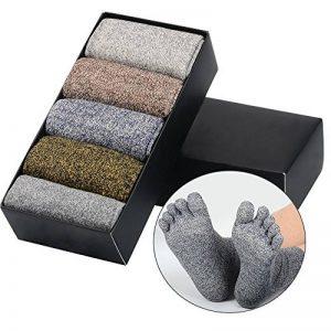 chaussettes à doigts TOP 4 image 0 produit