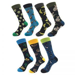 chaussettes fantaisie pour homme TOP 9 image 0 produit