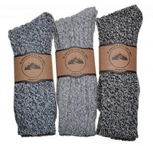 chaussettes hautes homme laine TOP 3 image 0 produit
