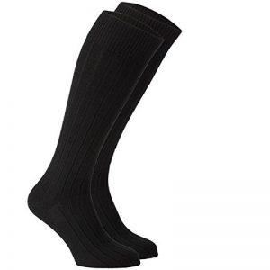 chaussettes hautes noires homme TOP 10 image 0 produit