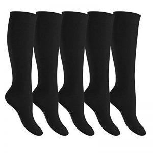 chaussettes hautes noires homme TOP 3 image 0 produit