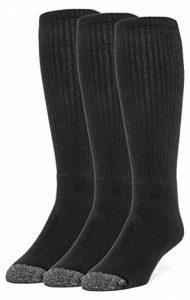 chaussettes hautes noires homme TOP 6 image 0 produit