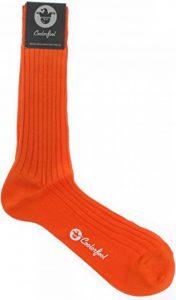 chaussettes orange homme TOP 11 image 0 produit