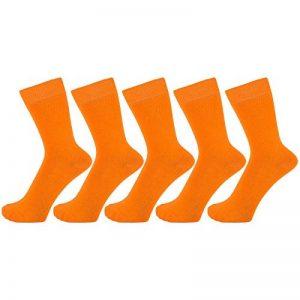 chaussettes orange homme TOP 12 image 0 produit