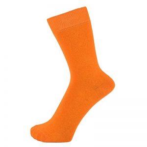 chaussettes orange homme TOP 9 image 0 produit