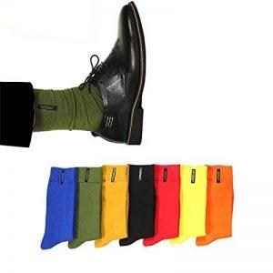 chaussettes unies couleur TOP 9 image 0 produit