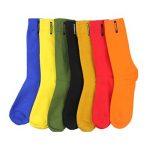 chaussettes unies couleur TOP 9 image 1 produit