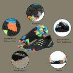 Chaussures Aquatique pour Homme Femme Chaussons de Plage de d'eau avec Lacets Autobloquants pour Sport Aquatique Piscine et Plage Surf Plongée Natation de la marque Pastaza image 3 produit