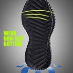 Chaussures de Marche Hommes Slip on Chaussettes Sneakers de Course Knit Sport Jogging Baskets Low Top Soft Fitness Respirant Mode Noir Bleu Gris Vert Rouge Blanc 39-44 de la marque PAMRAY image 4 produit