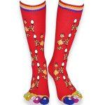 Coffret chaussettes doigts Poulette - Noir Rouge - 36-41 de la marque Chau7 image 3 produit