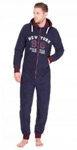 Combinaison à capuche pour homme Motif imprimé Combinaison tout-en-un pyjama WithLounge Chaussettes confortables de la marque Best-Deals-Direct image 0 produit