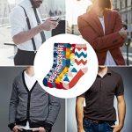 Comius Chaussettes Homme Fantaisie, Socquettes homme, Cool Coloré Fantaisie Drôle Peigné Coton Chaussettes Confortables de la marque Comius image 1 produit