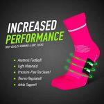 COMPRESSION FOR ATHLETES, Chaussettes Performance de Haute Qualité, Ajustement Parfait et Confort Supérieur, Fabriqué dans l'UE de la marque COMPRESSION-FOR-ATHLETES image 1 produit