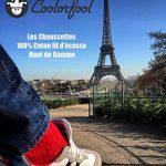Coolorfool Chaussettes fil d'écosse 100% coton haut de gamme 25 couleurs éclatantes |à moitié prix stock limité | finesse et douceur |Homme Femme Ado |35 36 37 38 39 40 41 42 43 44 45 46 48 de la marque Coolorfool image 4 produit